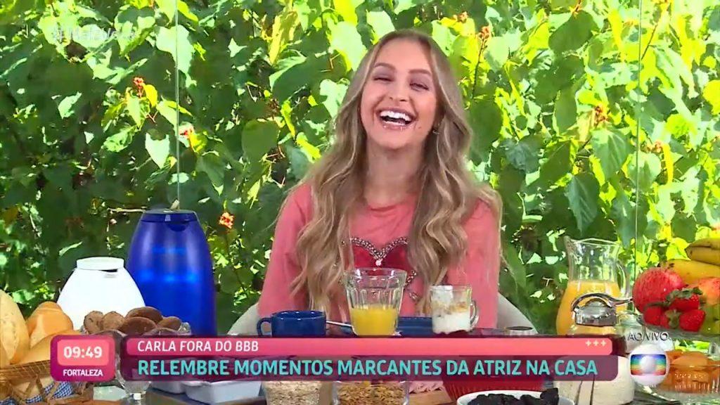 Carla Diaz muda postura e critica atitudes de Arthur