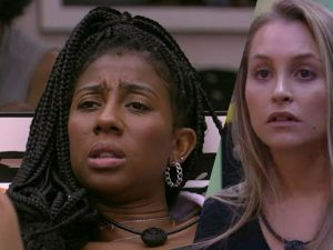 João e Camilla miram em Carla para paredão