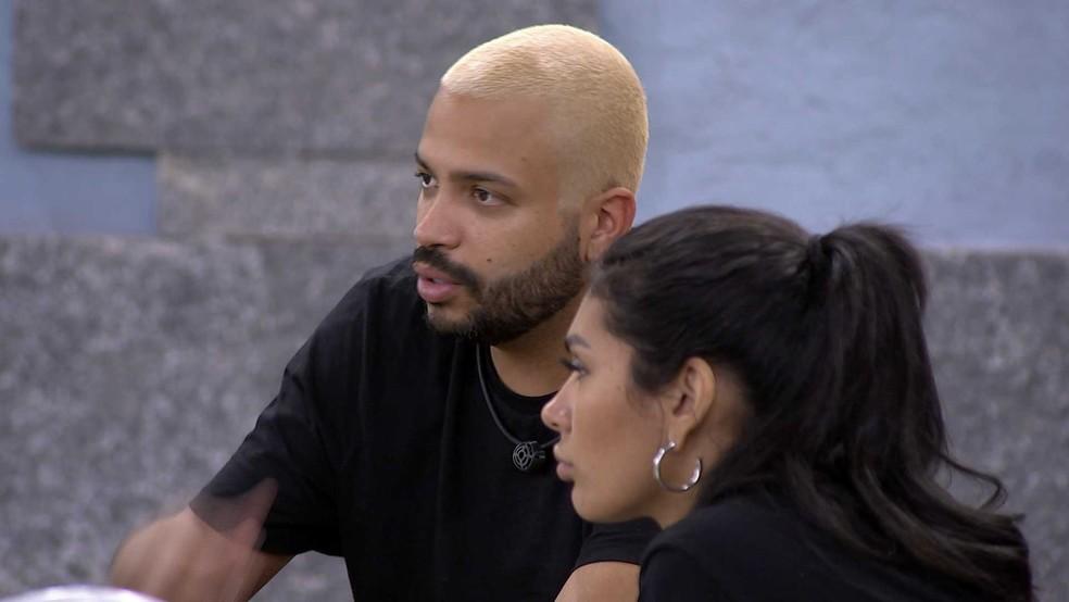 Projota critica Caio por escolha do anjo: 'Burro'