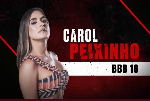 Carol Peixinho está em No Limite