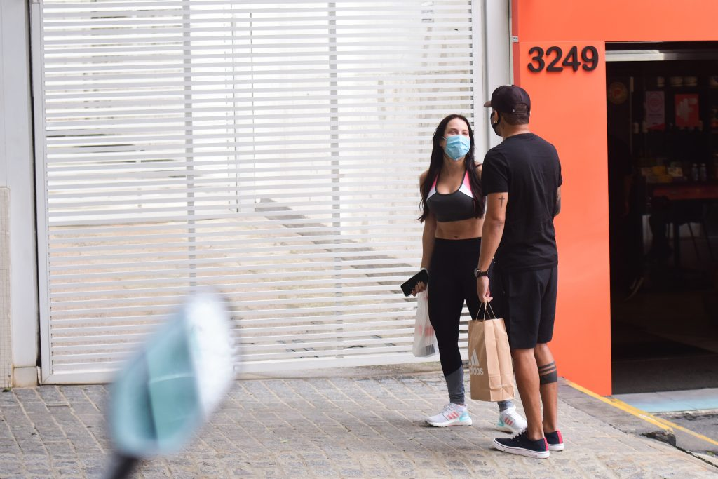 Tierry e Gabi Martins malham juntos em São Paulo