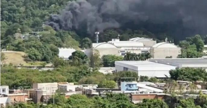 Incêndio atinge a Globo no Rio de Janeiro