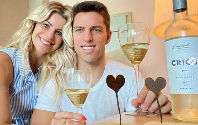 Amaury Nunes confirma crise no casamento com Karina Bacchi