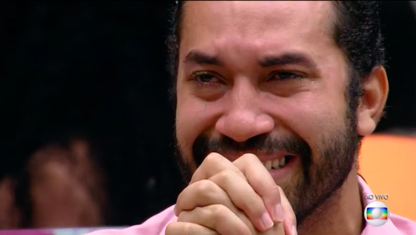 Gilberto é o último eliminado do Big Brother