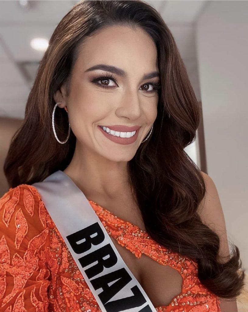 Brasileira fica em segundo lugar no Miss Universo