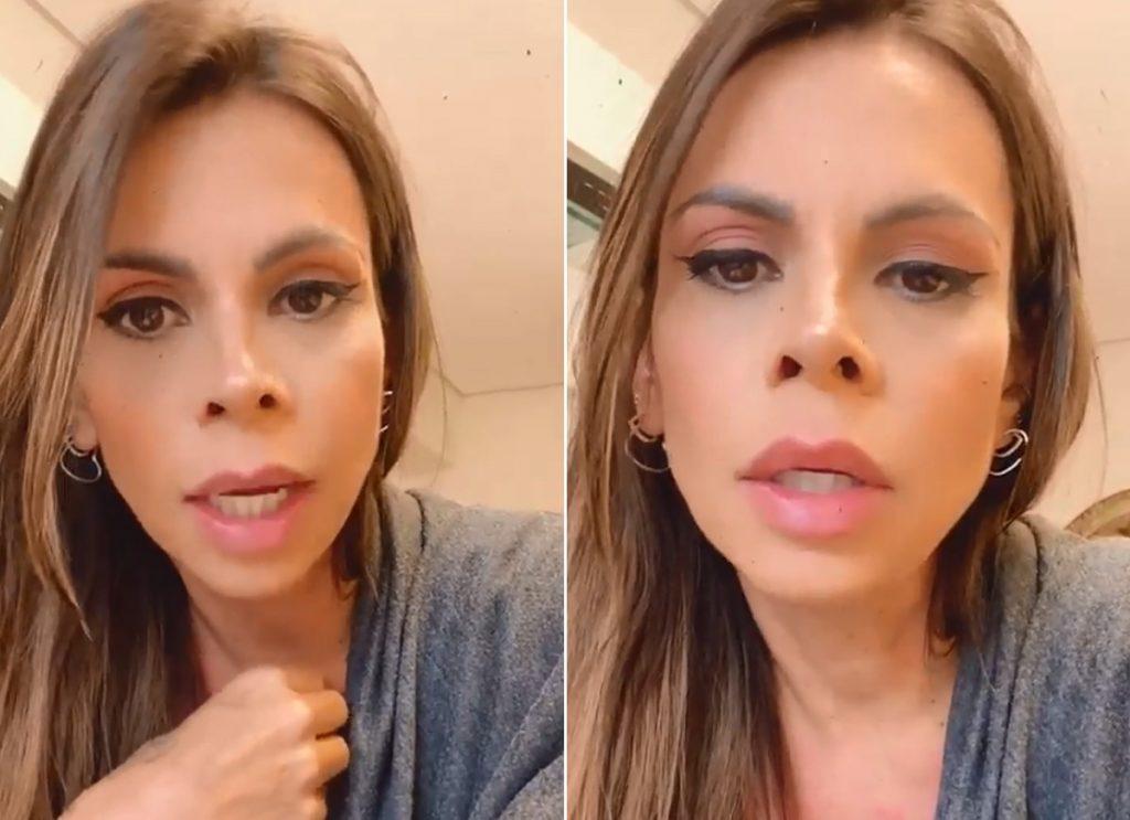 Maria Clara, namorada do cantor Marlon, rebate críticas sobre estar maquiada ao dar à luz