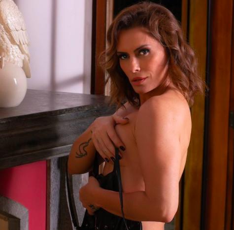 Núbia Óliiver é investigada por rede de prostituição