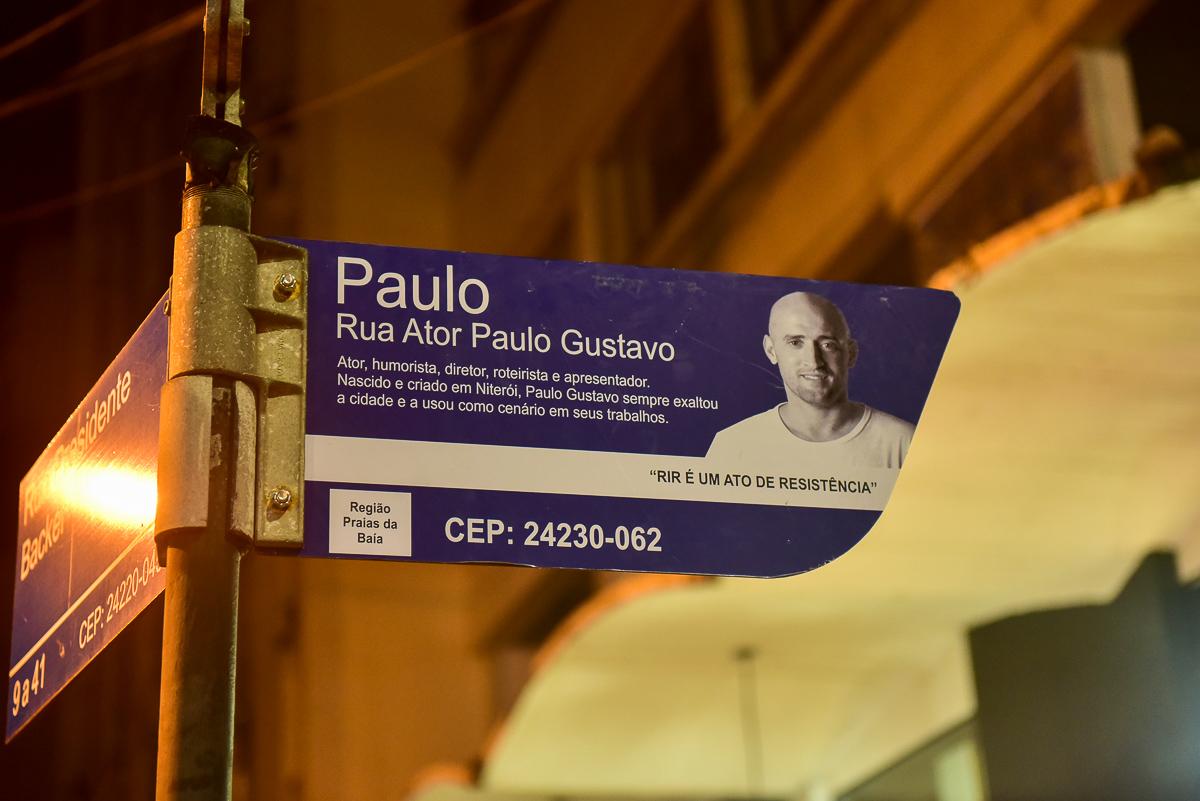 Lojistas querem anular novo endereço em homenagem a Paulo Gustavo