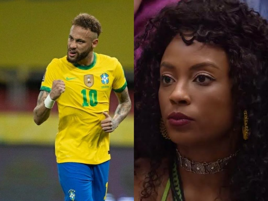 Neymar e Lumena trocam farpas no Twitter