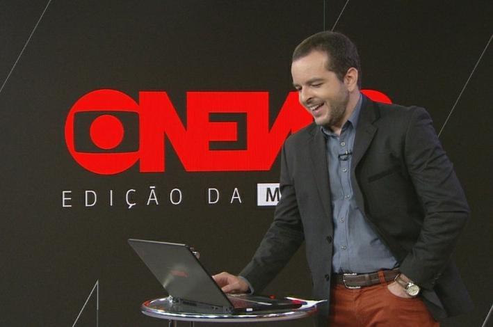 Jornalista da GloboNews sofre acidente e perde a memória