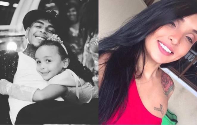 Mãe da filha de Mc Kevin chora após ser atacada nas redes sociais