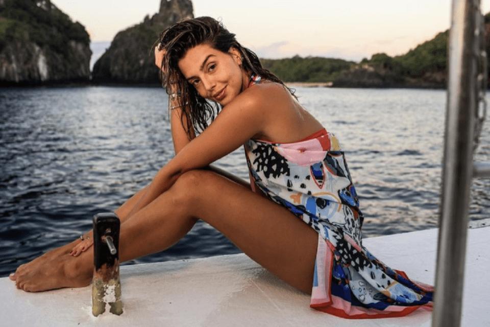 Giovanna Lancelotti justifica vacina em Noronha