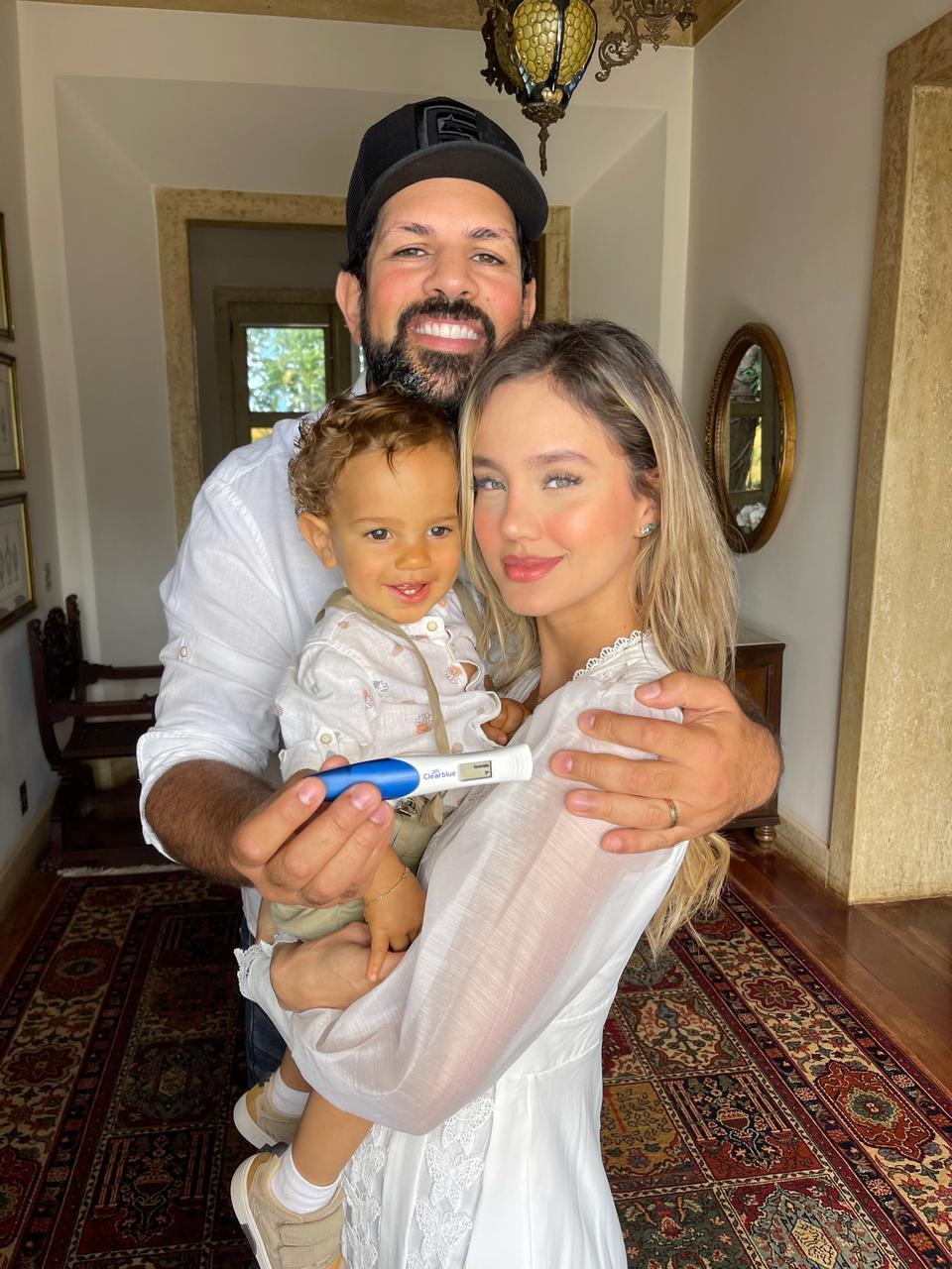 Biah Rodrigues está grávida de seu segundo filho com Sorocaba