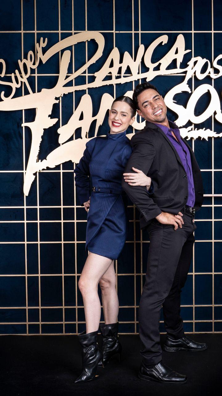 Sophia Abrahão comete gafe e agradece Faustão após troca de professor no Dança