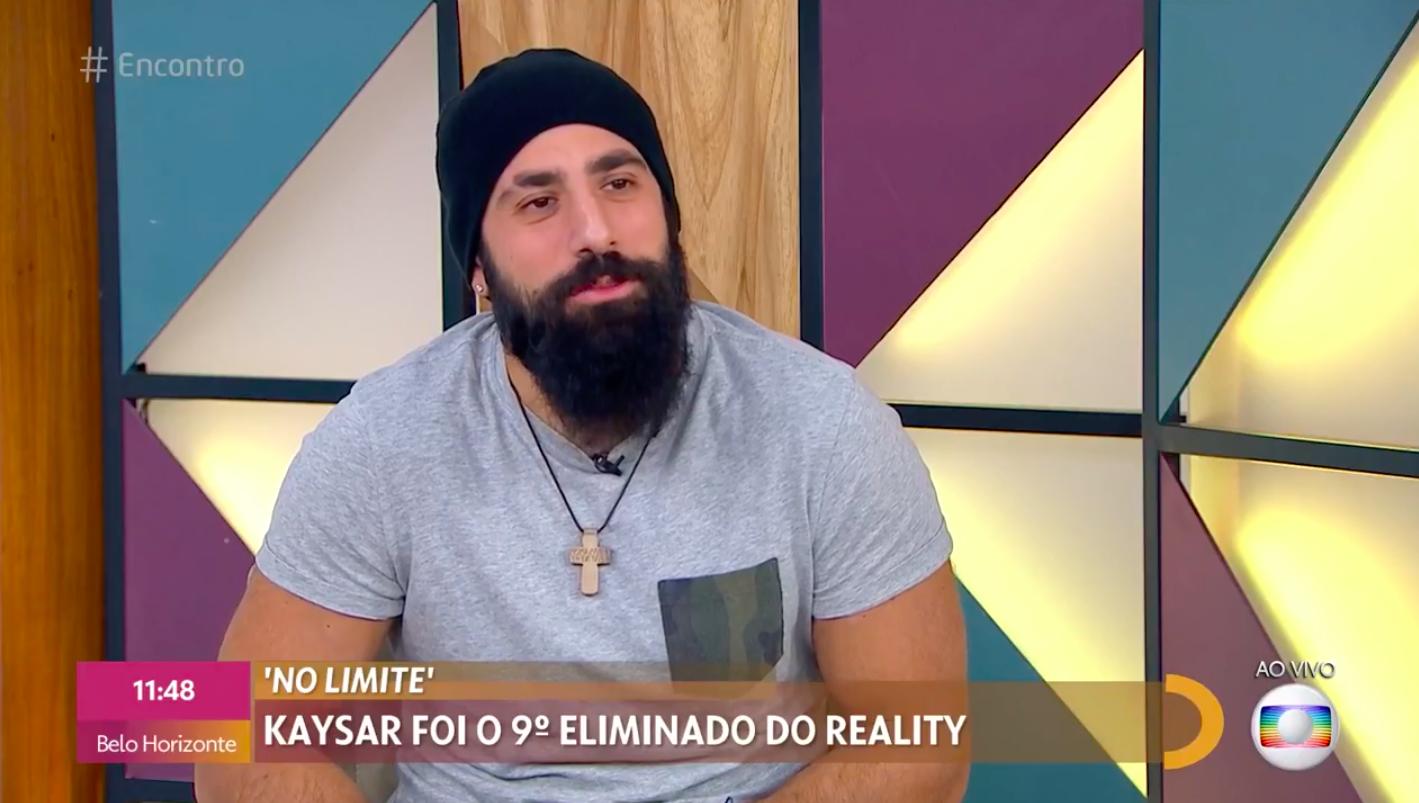 Kaysar entrega perrengue em No Limite: 'Fiquei Bem fedido'