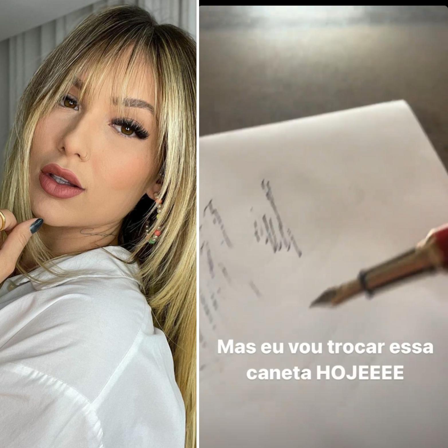 """Virginia Fonseca reclama após comprar caneta de R$7700 """"Não funciona"""""""