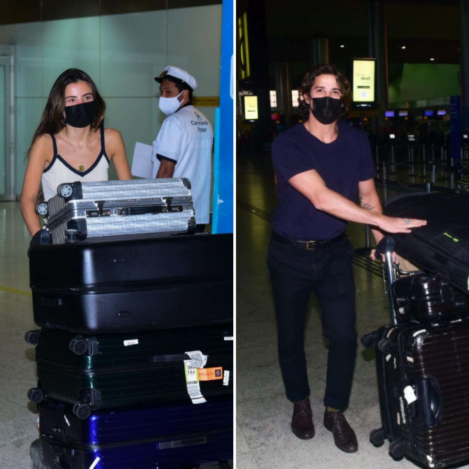 Depois de 20 dias juntos, Giulia Be e Romulo Arantes Neto voltam ao Brasil…separados!