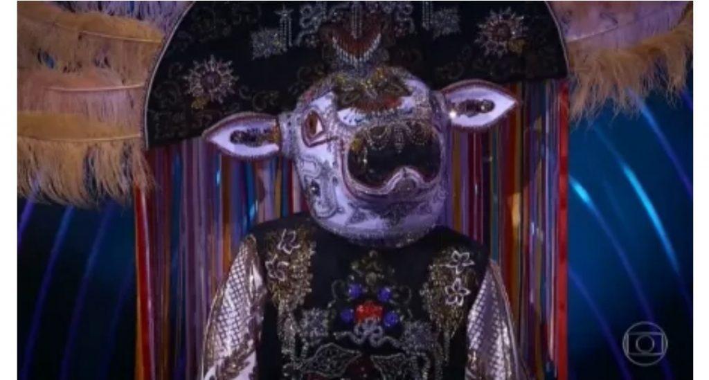 Marrone é o Boi-Bumbá do The Masked Singer