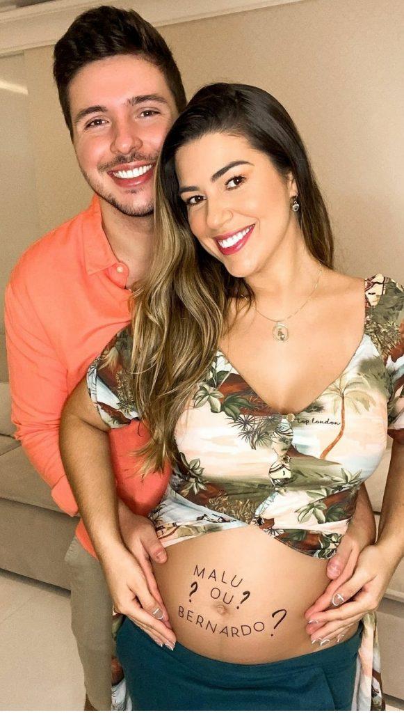 Vivian Amorim revela possíveis nomes do bebê