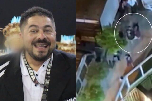 Diretor da Gaviões da Fiel é filmado agredindo ex-mulher