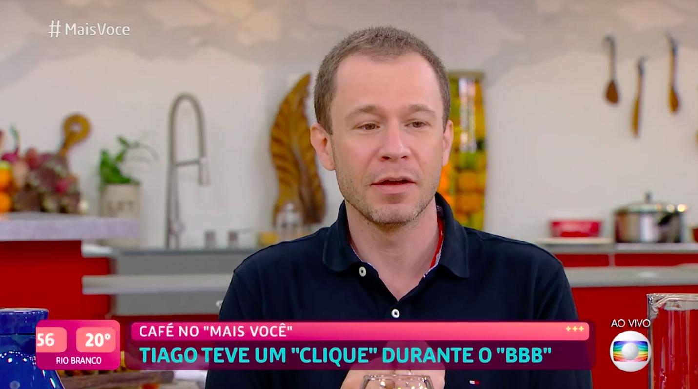 Tiago Leifert analisa saída da Globo: 'Vida de atleta'