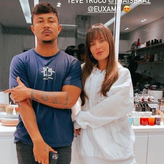 Xamã admite que relação com Thais Braz foi publicidade