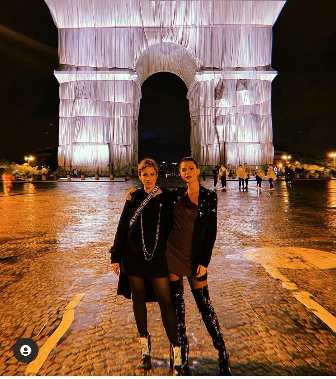 Marcella Rica é furtada em Paris